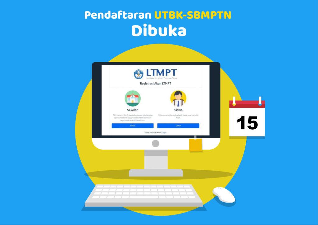 Pendaftaran UTBK SBMPTN 2021 | Teman Belajar