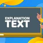 Explanation Text   Teman Belajar